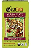 ECOTEAS Organic Yerba Mate Loose Tea Traditional Cut 1 pound