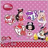 Famosa I love Minnie Trousseau - Muñeca con bolso, diseño Minnie Mouse