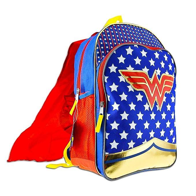5ddcea1360ec Amazon.com  Super Hero Girls Backpack and Lunch Box Set -- Deluxe 16