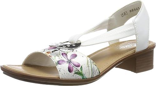 Rieker Damen 62662 33 Geschlossene Sandalen: