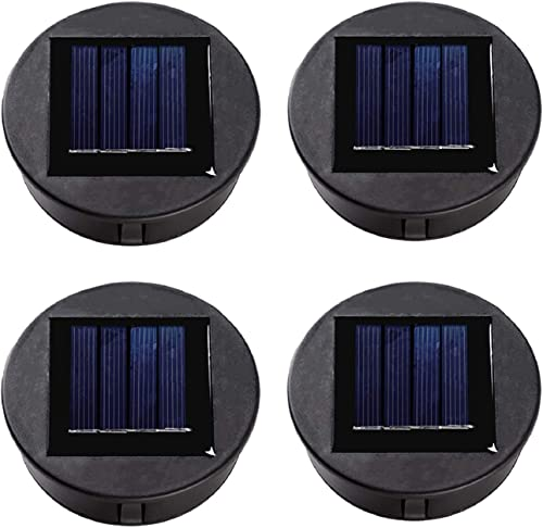 ZNYCYE 4 Packs Solar Light Replacement Top for Outdoor Hanging Lanterns