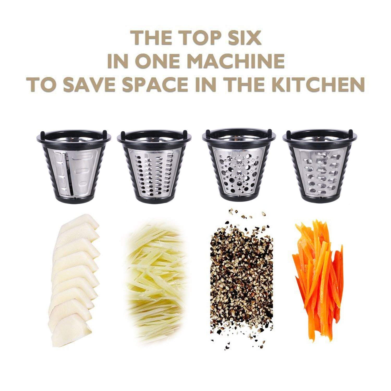 Homdox Professional Electric Slicer Shredder Salad Maker Machine by Homdox (Image #4)