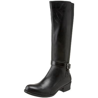 0c8d6d7cbb22 Naturalizer Array Womens Black Wide Shaft Wide Fashion Knee-High Boots UK  7  Amazon.co.uk  Shoes   Bags