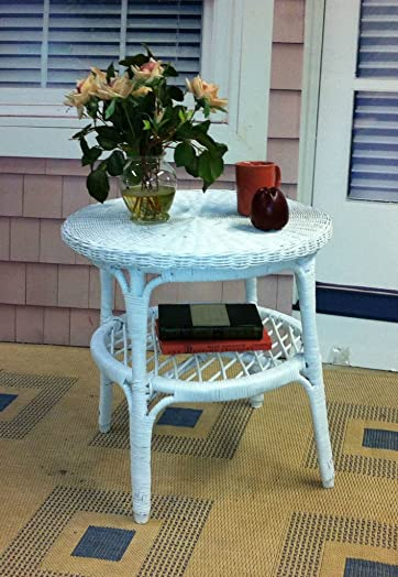 New Indoor Wicker Furniture Tranquility End Table