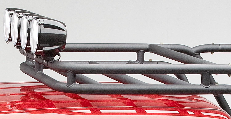 Amazon.com: Body Armor 4x4 5129   Black   Large Sport Rack Cargo Basket For  Mid Sized Truck: Automotive