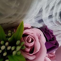 Amazon ソープフラワー ギフト 敬老の日 母の日 誕生日 プレゼント 花 記念日 造花 石鹼フラワー 開店祝い 枯れない花 お見舞い Hanaspeak ギフトボックス ピンク 造花 オンライン通販