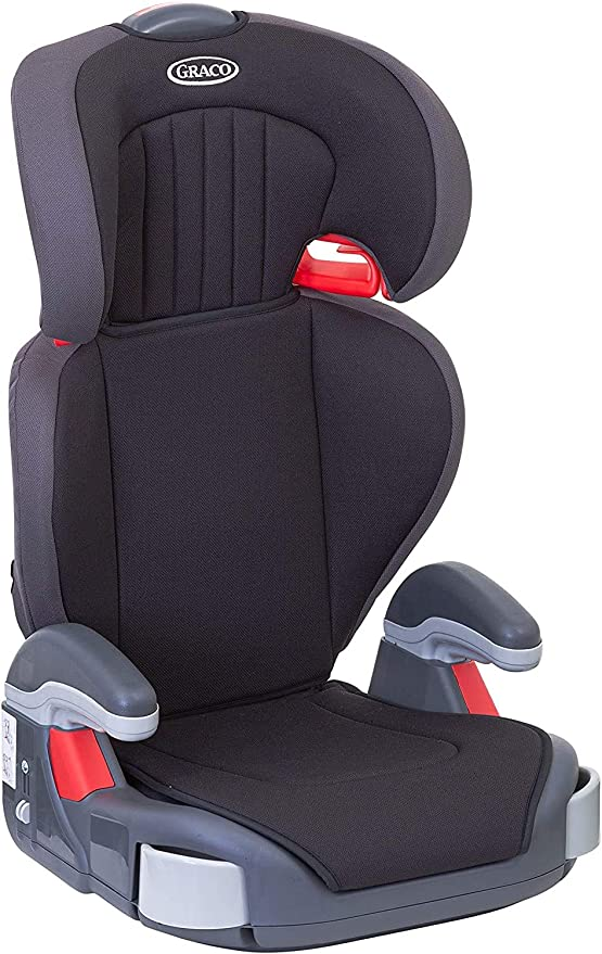 Graco Junior Maxi Lightweight High back Booster Car Seat, Group 2/3 (4 to 12 Years Approx, 15-36 kg), Black