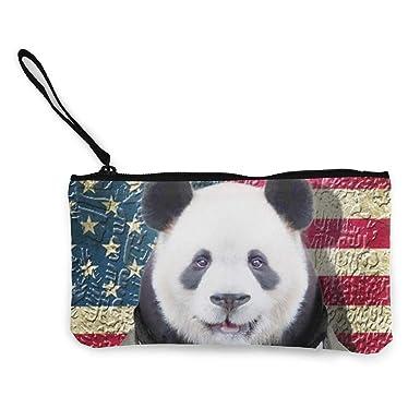Amazon.com: Panda Estuche para lápices de maquillaje con asa ...