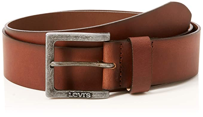 42aab8e98a32 Levi s Men s Muckalee Belt, (Medium Brown 28), 32 (Size  85