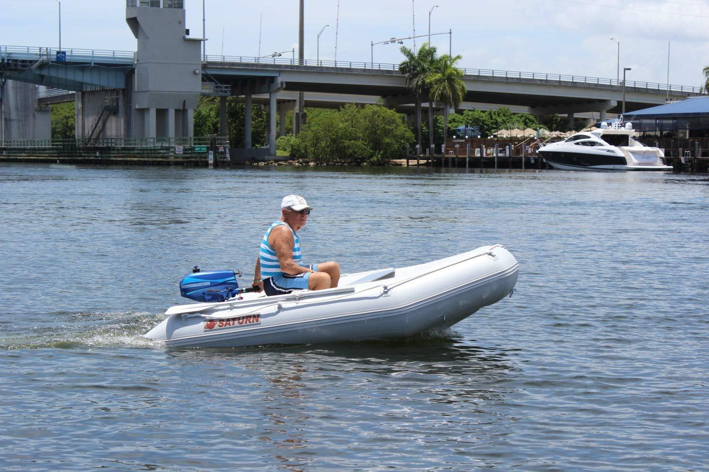 Saturn 9 ft 6 pulgadas Inflatable Boat: Amazon.es: Deportes ...