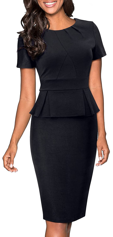 d7320d4bc7a Top 10 wholesale Knee Length Peplum Dress - Chinabrands.com