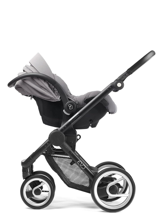 Mutsy EVO - Cochecito de bebé asiento de coche adaptador para capazo ...