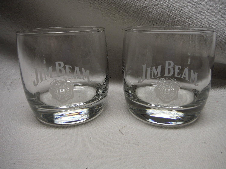 Jim Beam Snifter Glass | Set of 2 Glasses Jim Beam Distillery