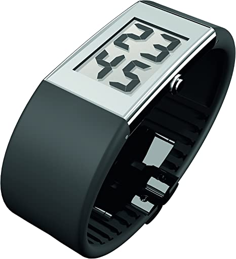 Rosendahl Watch II - Reloj digital de caballero de cuarzo con correa de goma negra - sumergible a 30 metros: Rosendahl: Amazon.es: Relojes
