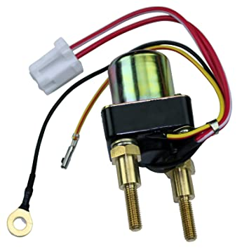 Kawy 750 900 1100 ZXI STX Ultra Starter Solenoid Relay Switch (Replaces/Compatible Kawasaki Zxi Ignition Switch Wiring Diagram on