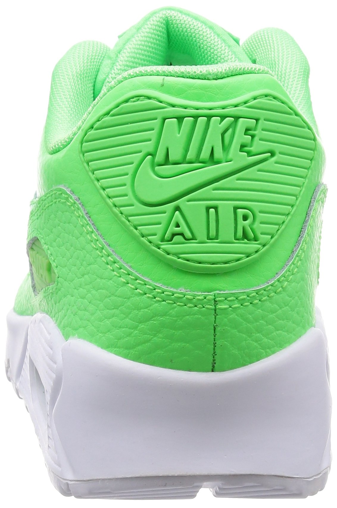 Nike Air Max 90 Leather (GS) Schuhe voltage green-voltage green-white - 35,5