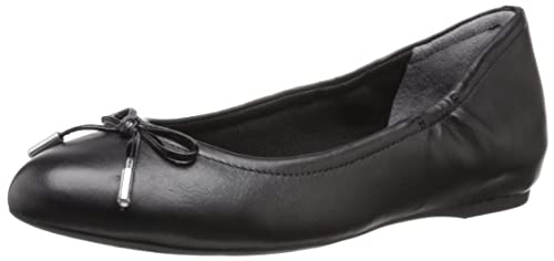 Rockport Women's Total Motion Hidden Wedge Tied Ballet Black Nappa ...