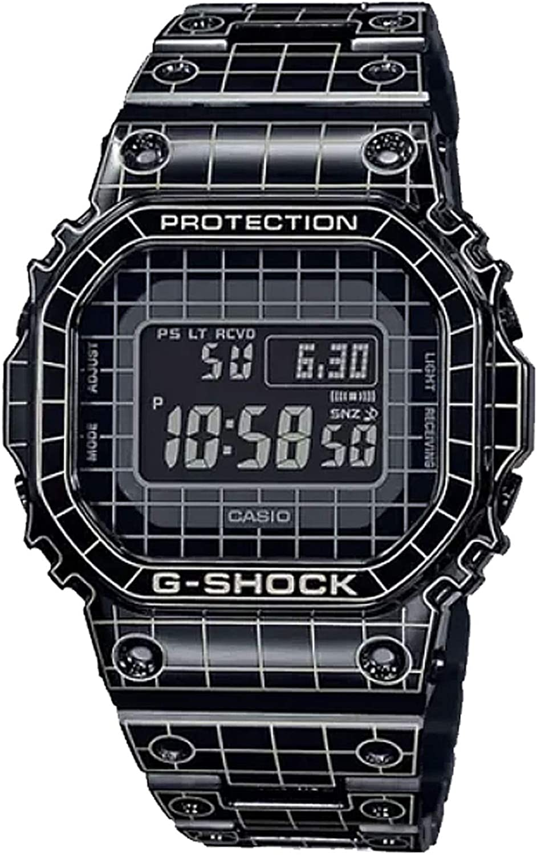 Amazon Com Casio G Shock Gmw B5000cs 1 Limited Edition Full Metal Grid Tunnel Mens Digital Watch Watches
