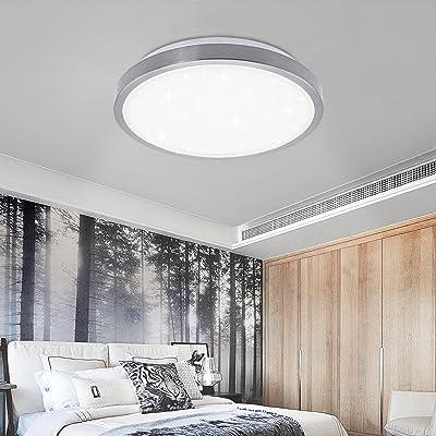Vgo 12w Led Plafonnier Lumiere Des Etoiles Effet Salon Lampe Froide
