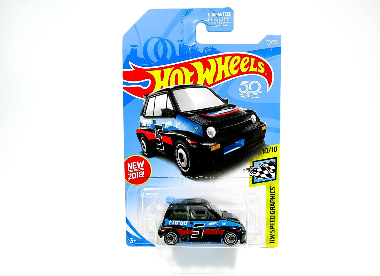 Hot Wheels 85 Honda City Turbo II HW Speed Graphics 10//10 1:64 68//365 2018