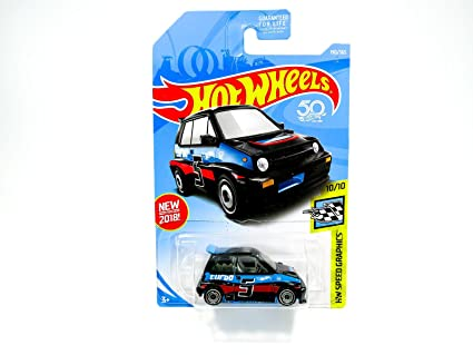 Hot Wheels 2018 50th Anniversary HW Speed Graphics 85 Honda City Turbo II 190/