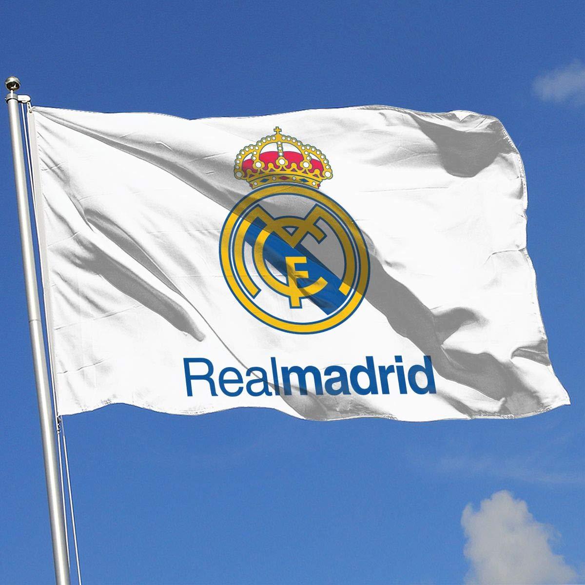Real Madrid//Manchester United//Juventus//Chelsea//Barcelona//Arsenal FC House Flag Garden Flag Yard Banner Garden Flag 3 X 5