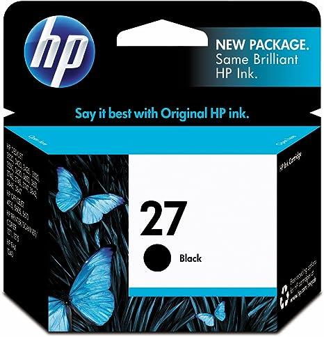 Amazon.com: HP 27 | Cartucho de tinta | Negro | C8727AN ...