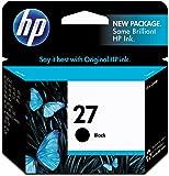 HP 27 Black Original Ink Cartridge (C8727AN)
