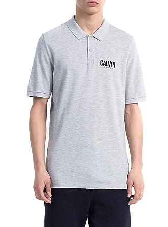 Calvin Klein Polo Jeans Polis Gris XXL Gris: Amazon.es: Ropa y ...