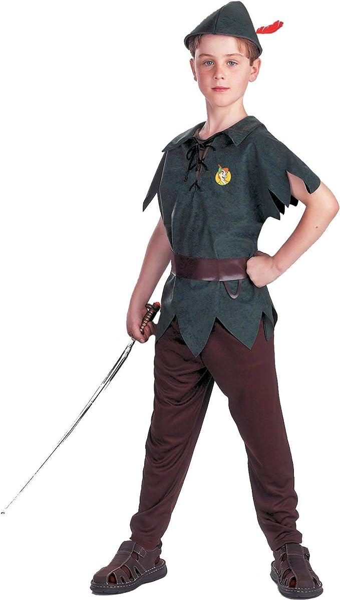 Disguise Inc – Disfraz Infantil de Peter Pan Disney, Verde, S ...