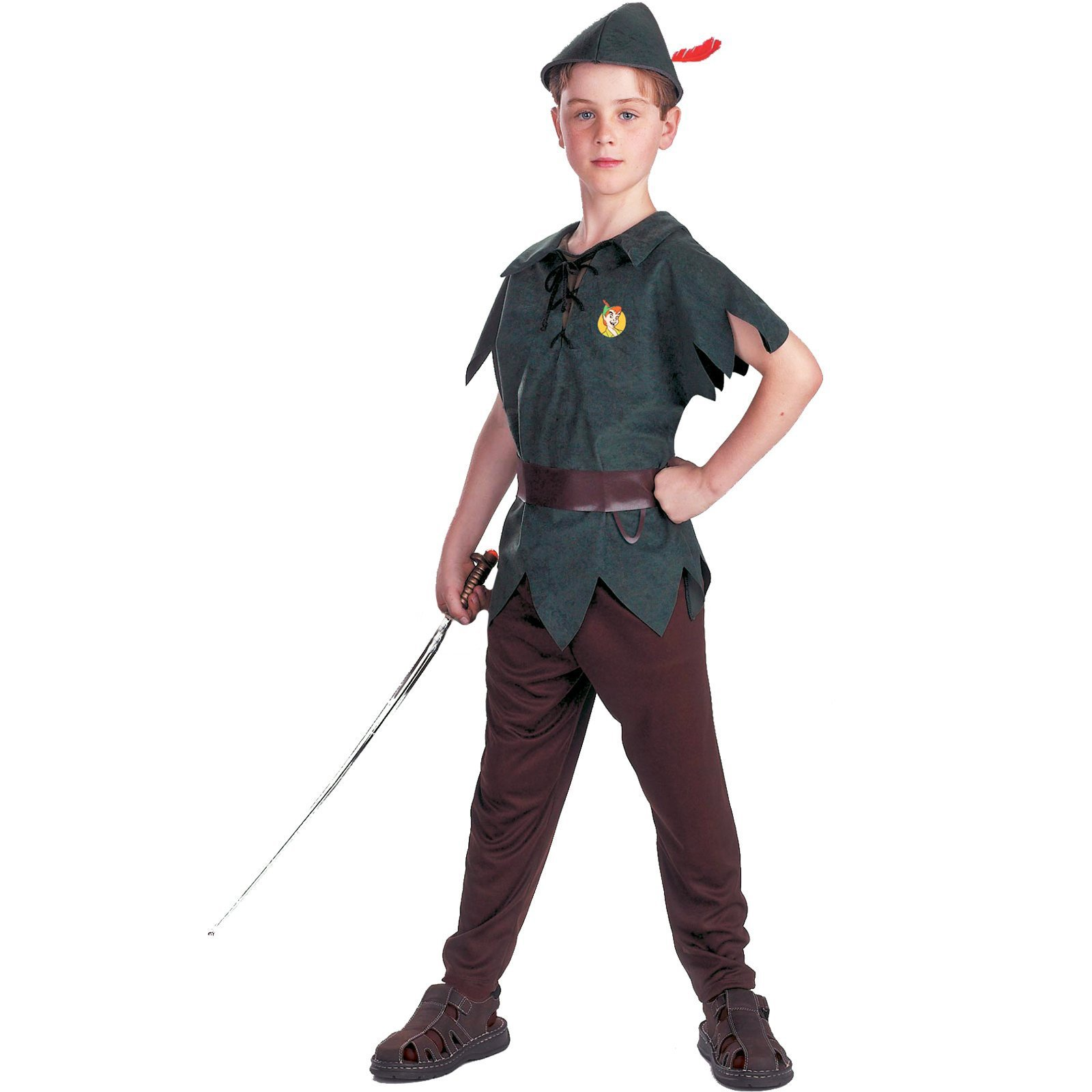 Disguise Peter Pan Disney Toddler / Child Costume Green 41463 by Disguise