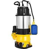 Moracle VD-550F Bomba de Aguas Residuales 220V 3 / 4HP Bomba Sumergible Sucias Acero Inoxidable