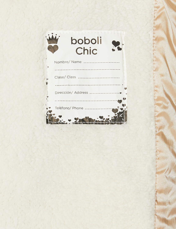boboli Technical Fabric Parka for Girl Coat
