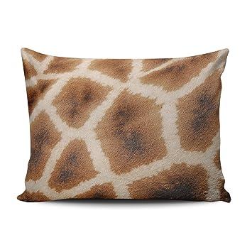Amazon.com: Fanaing - Funda de almohada con diseño de hojas ...