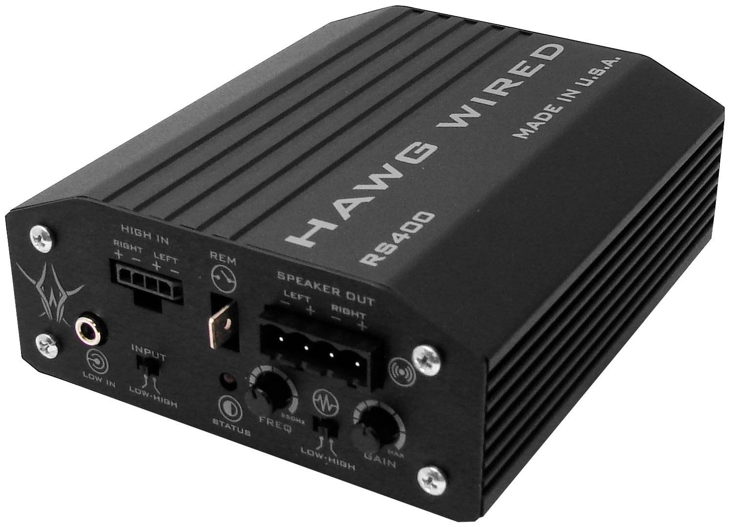 Amazon.com: Hawg Wired Reference series amplifier RS400: Musical ...