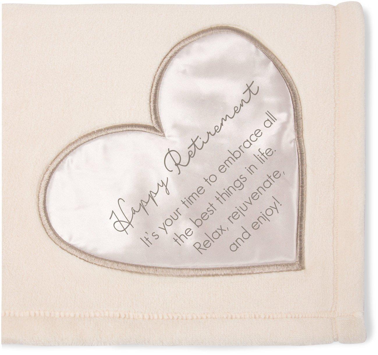 The Comfort Blanket Soft Blanket Happy Retirement Warm Royal Plush Throw