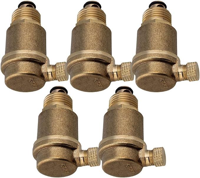 """Válvula de latón de 1//2/"""" automático de ventilación de aire de alta resistencia a la temperatura 16MPa"""