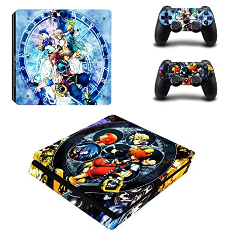Kingdom Hearts Vinyl Skins Decals Stickers Set For Ps4 Pro Consoles Controllers A Great Variety Of Goods Video Game Accessories Video Games & Consoles