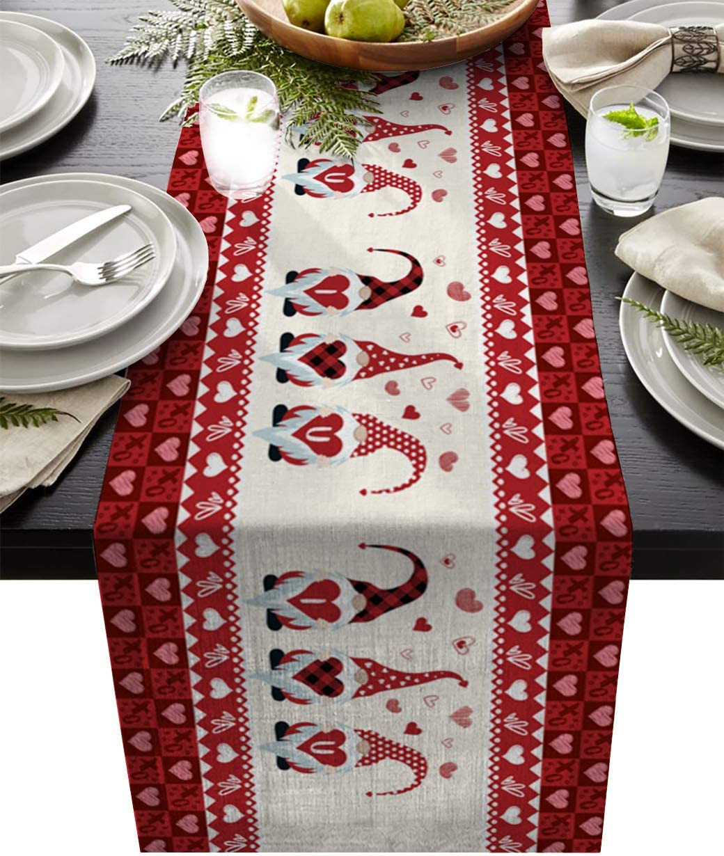 An elegant addition to your dining or decorative experience Reversible for both holiday AND everyday use Table Runner