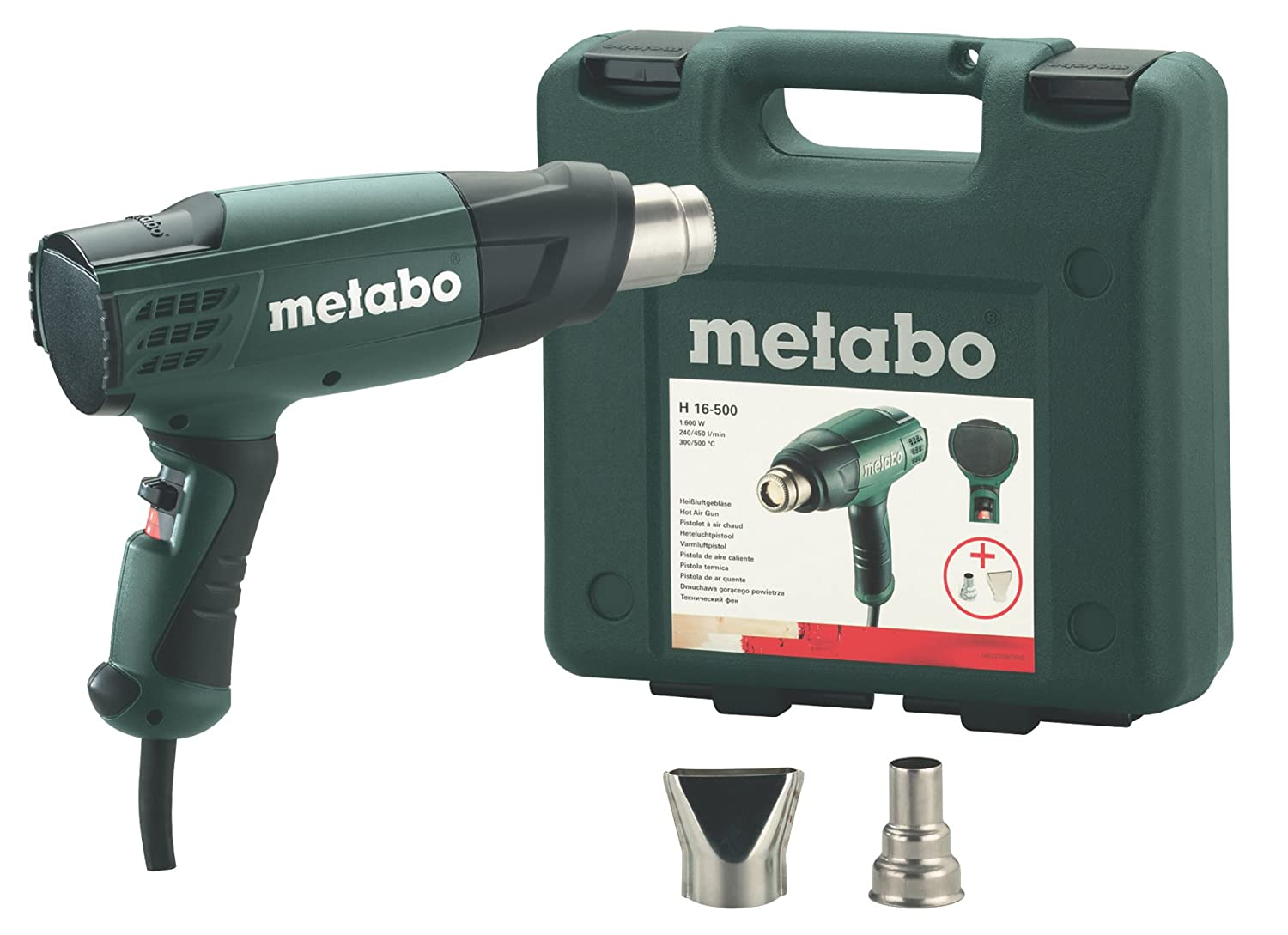Pistolets à air chaud HE 16-500 Metabo H16500
