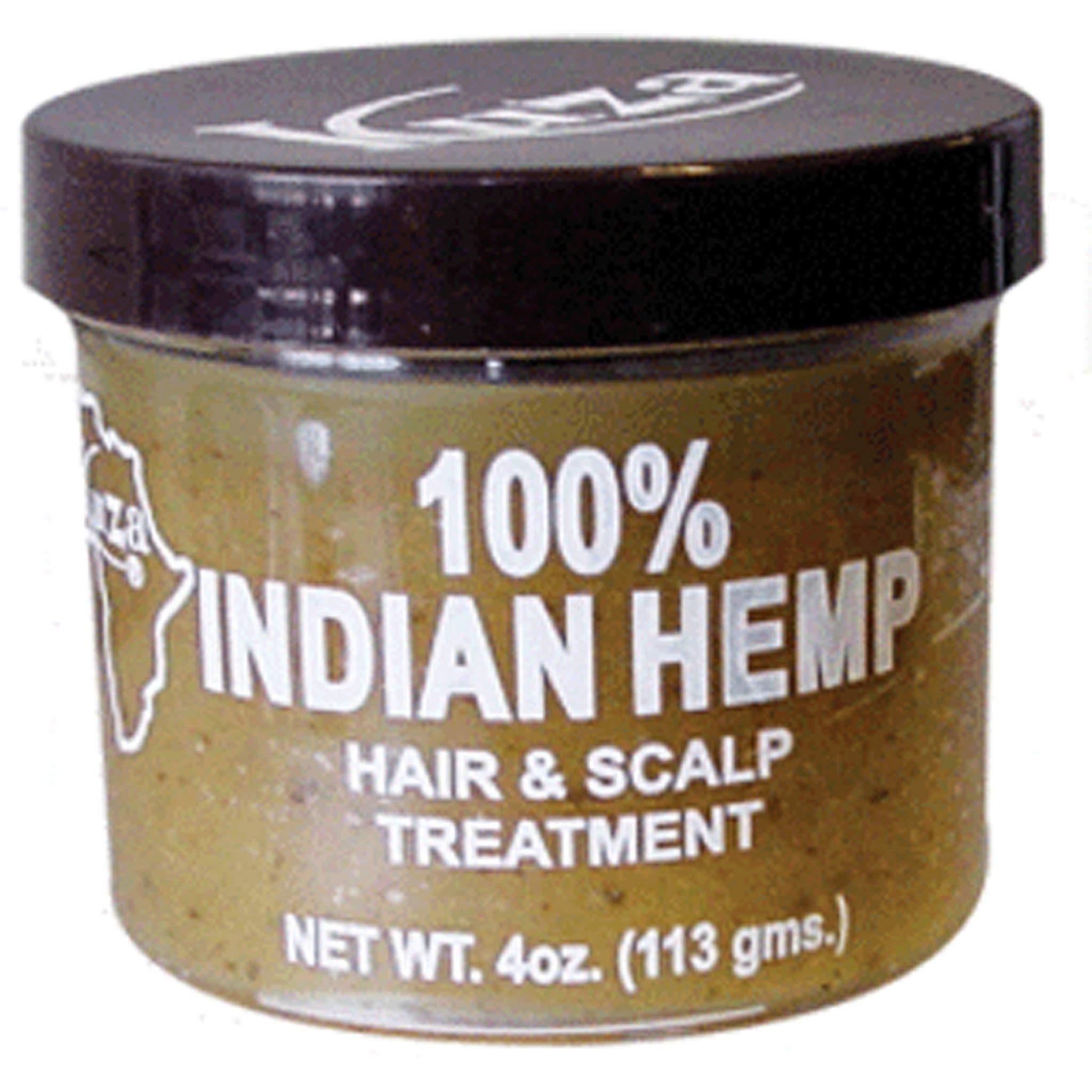 Kuza 100% Indian Hemp Hair & Scalp Treatment 4oz