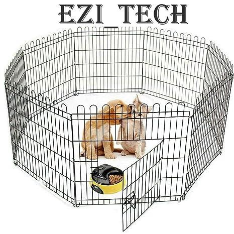 Walgreen® - Jaula de Metal para Mascotas de 91 cm, 8 Paneles, para ...