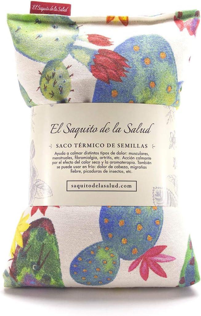 Saquito Térmico de Semillas Microondas Cactus (Romero, M (50 x 15 ...