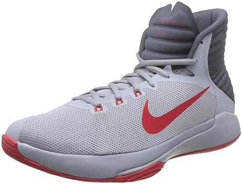 Nike 844787 004, Zapatillas de Baloncesto Unisex Adulto, Blanco ...