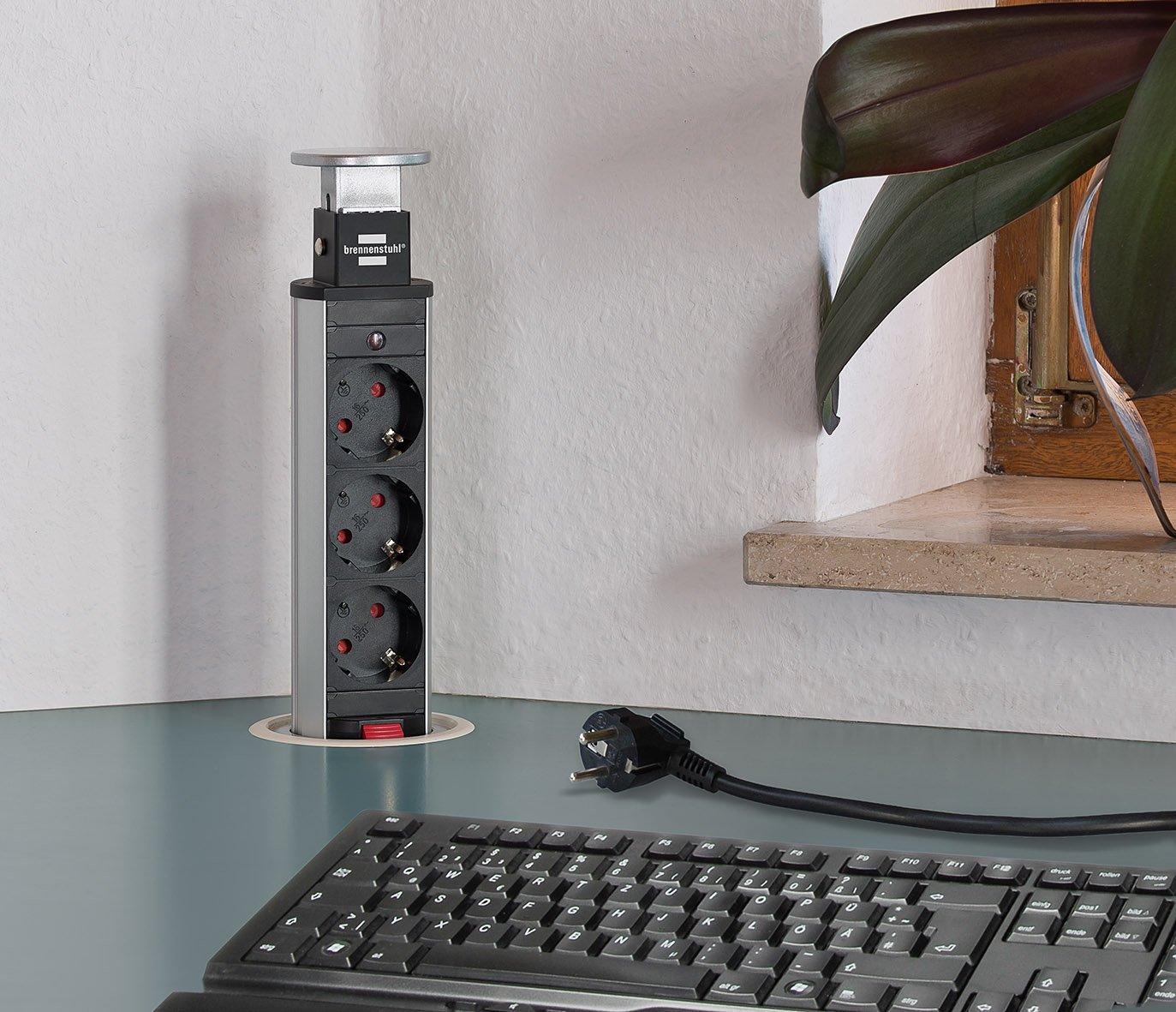 230 V 3500 W Brennenstuhl 1396200003 Multipresa a Torre