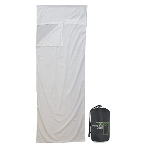 Yellowstone Quick Dry  Unisex Outdoor Envelope Sleeping Bag available in White -