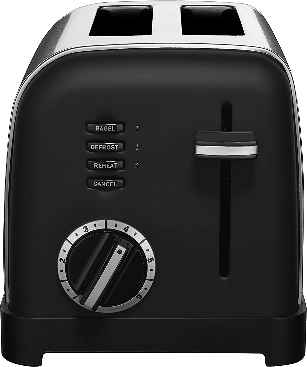 Cuisinart CPT-160MB 2-Slice Metal Classic Toaster, Matte Black
