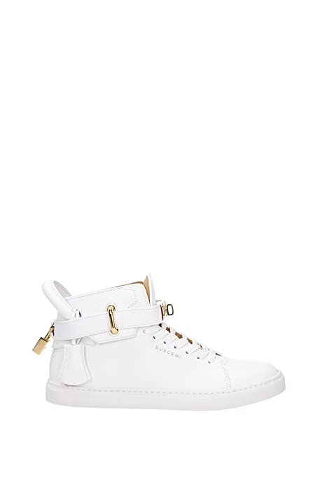 BUSCEMI Sneakers Uomo - Pelle (1007SP14WHT) 39 EU  Amazon.it  Scarpe ... bac1ce31be3