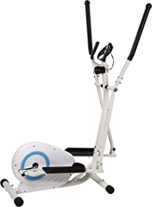BalanceFrom Magnetic Elliptical Machine Cross Trainer with 8 Level Resistance and Digital Monitor