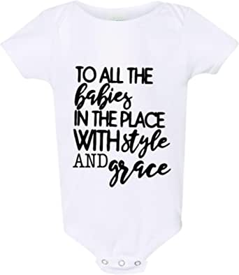 Baby Clothes Baby Outfit Funny Baby Onepiece Mothers Day Fathers Day Newborn Outfit Casper Gangster Rock Baby Bodysuit Baby Gift